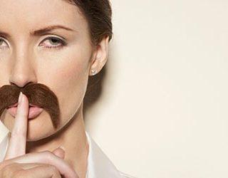 Усы у женщины