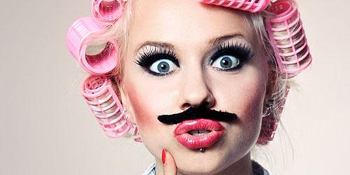 к чему снятся усы у женщины