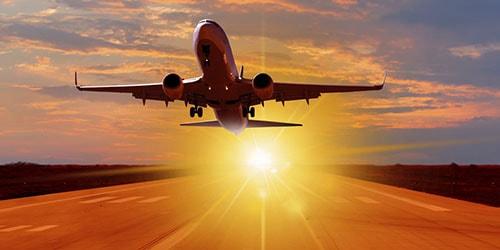 Взлетать на самолете по соннику