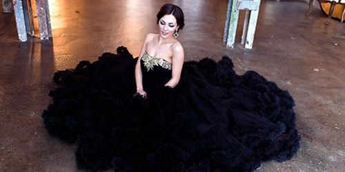 к чему снится черное свадебное платье
