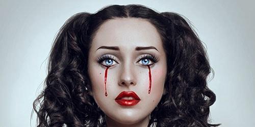 течет кровь из глаз во сне