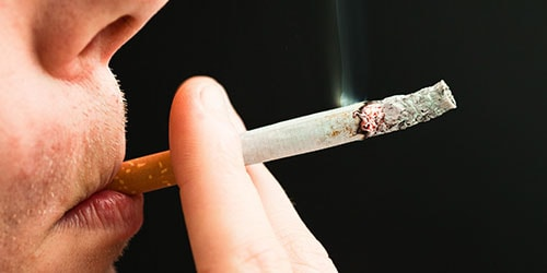 курить сигарету во сне