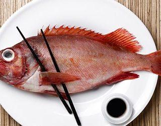 Кушать рыбу