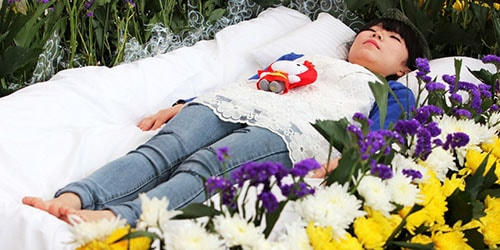 мертвец ожил в гробу во сне
