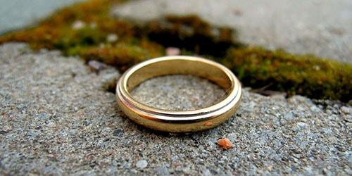 потерять кольцо
