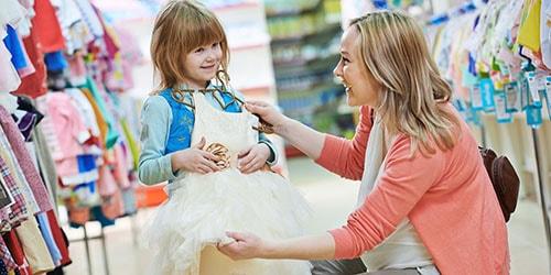 выбирать детское платье