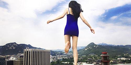 прыгнуть с крыши