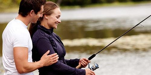 ловить рыбу на удочку