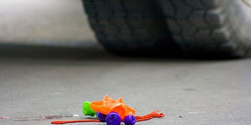 сбить ребенка на машине