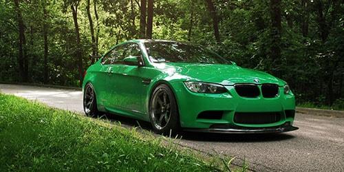 зеленая машина