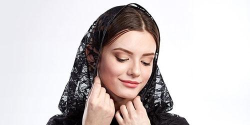 к чему снится одевать черный платок
