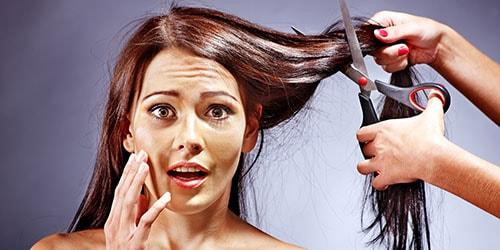 отрезать волосы