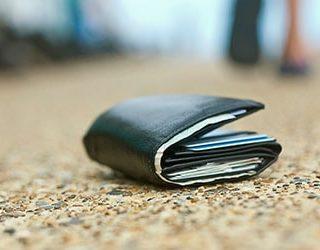 Потерять кошелек