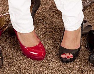 Разная обувь