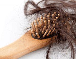 Выпал клок волос