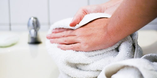 вымытые руки