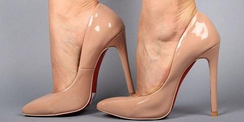 бежевая обувь
