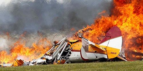 взрыв самолета