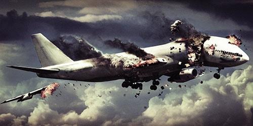 взрыв авиалайнера