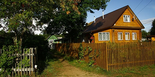 домик в деревне