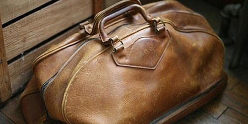 коричневая сумка