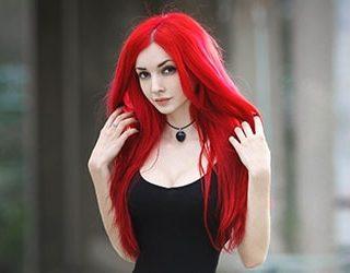 Сонник красные волосы