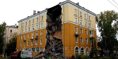 Сонник обрушение дома к чему снится обрушение дома во сне