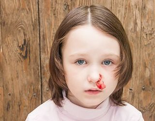 Ребенок в крови