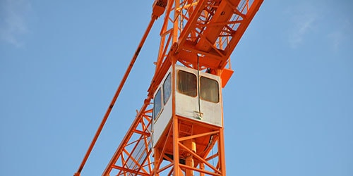 кабина башенного крана