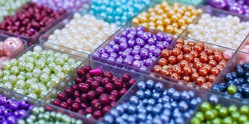 разноцветные бусинки