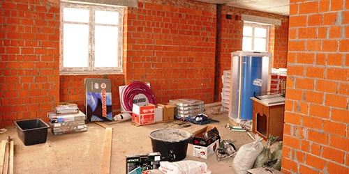 квартира в стадии ремонта