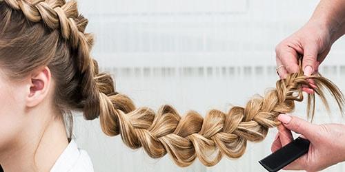 заплетать косу