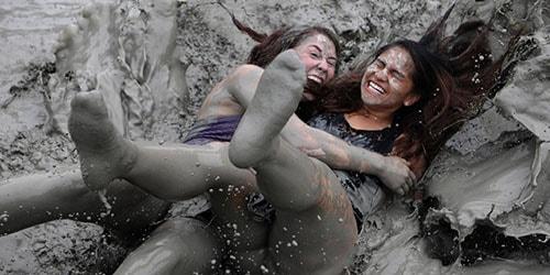 падение в грязь