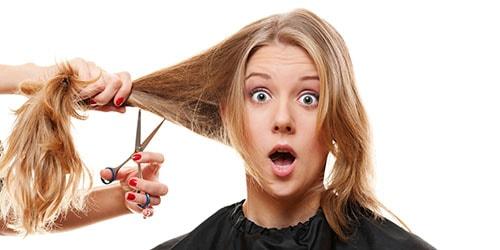 отрезать длинные волосы