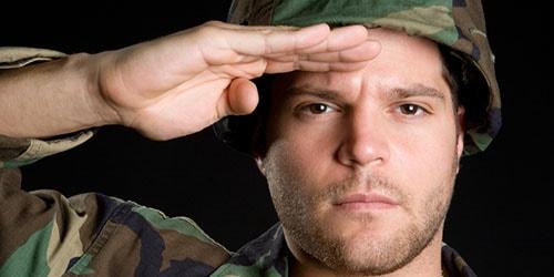 военный мужчина