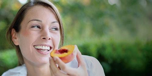 есть персики
