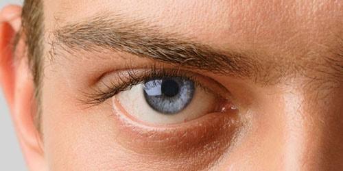 глаз мужчины