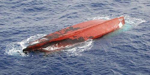 перевернутое судно