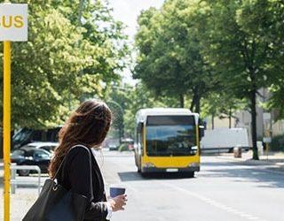 Ждать автобус