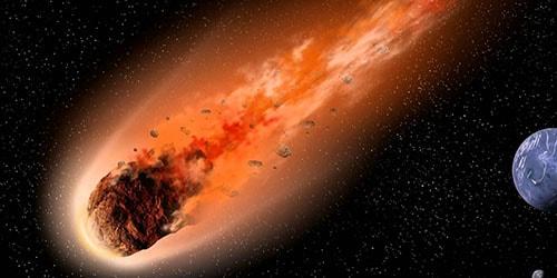 падающая комета