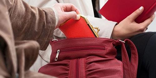 кража кошелька из сумки