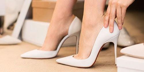 светлая обувь