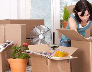 Собирать вещи для переезда
