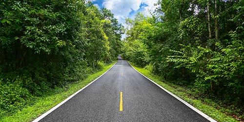ровная дорога