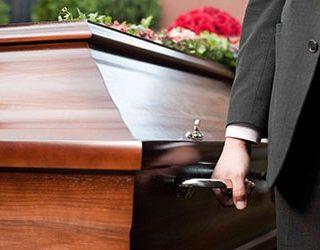 Похороны мужа