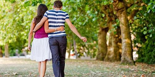 прогулка в парке
