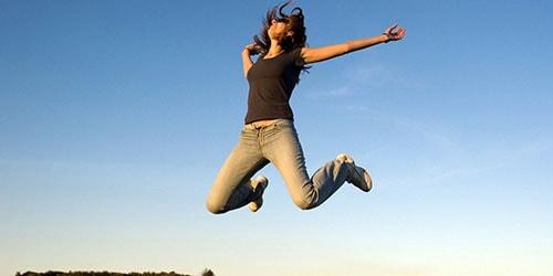 прыжок вверх