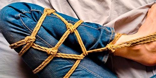завязанные ноги
