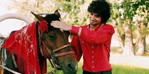 цыган с лошадью