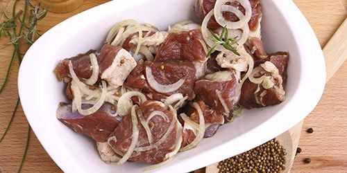 мясо на шашлык